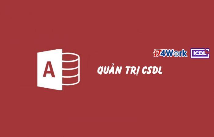 Sử dụng hệ quản trị CSDL – Using Database