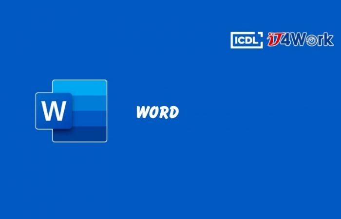 Khóa học xử lý văn bản – Word Processing