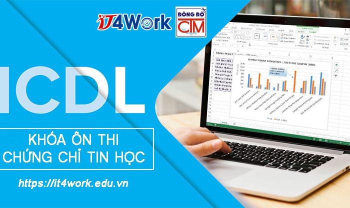 Khóa ôn thi chứng chỉ tin học quốc tế ICDL