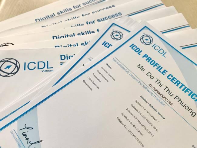 khóa ôn thi chứng chỉ tin học ICDL ảnh 1 tại IT4Work