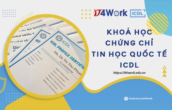 Khoá học Chứng chỉ tin học quốc tế ICDL
